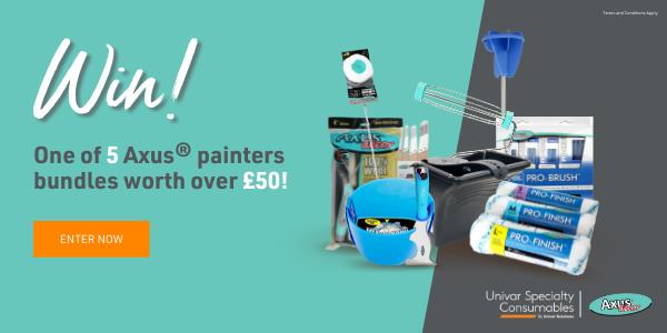 Win 1 of 5 Axus painters bundles worth over £50!