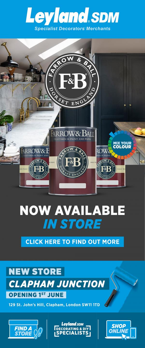 Leyland SDM - Farrow & Ball now available in store