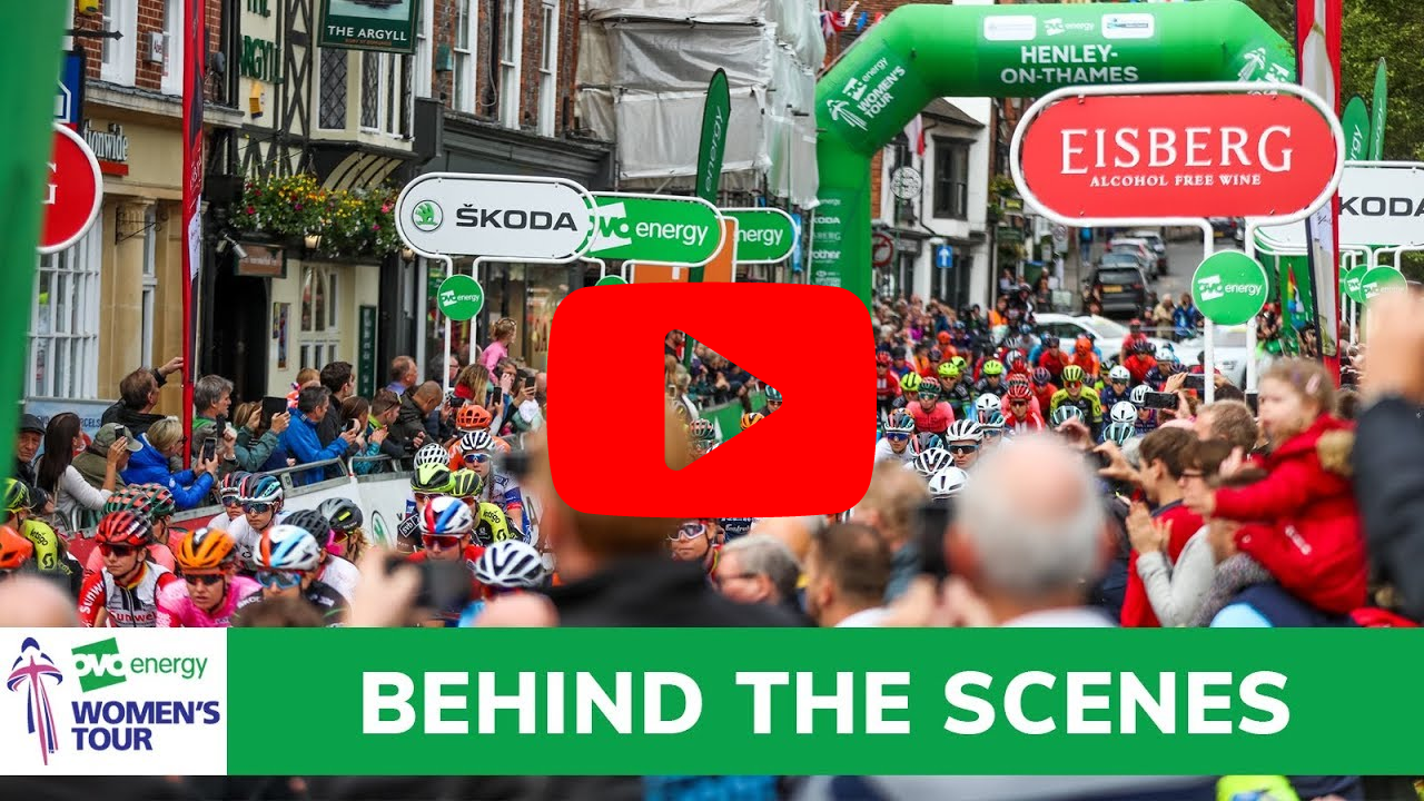 video highlights of the cycle race